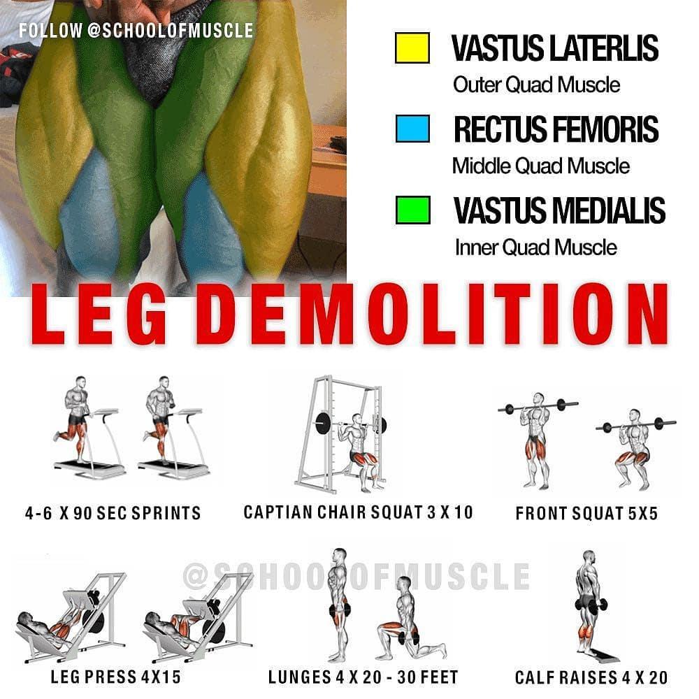 Leg demolition