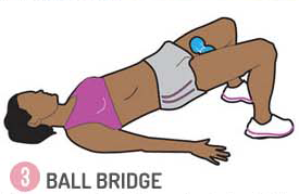ball bridge exercises