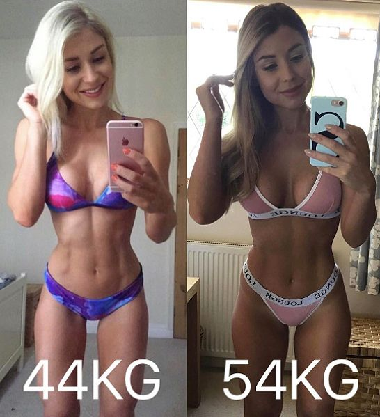 before and after loss weight