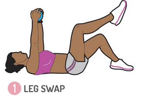 legs swap exercises