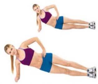 The side plank workout