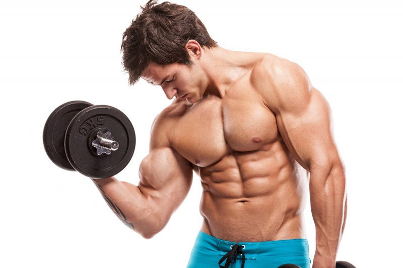 The program of exercises on drying the body for men