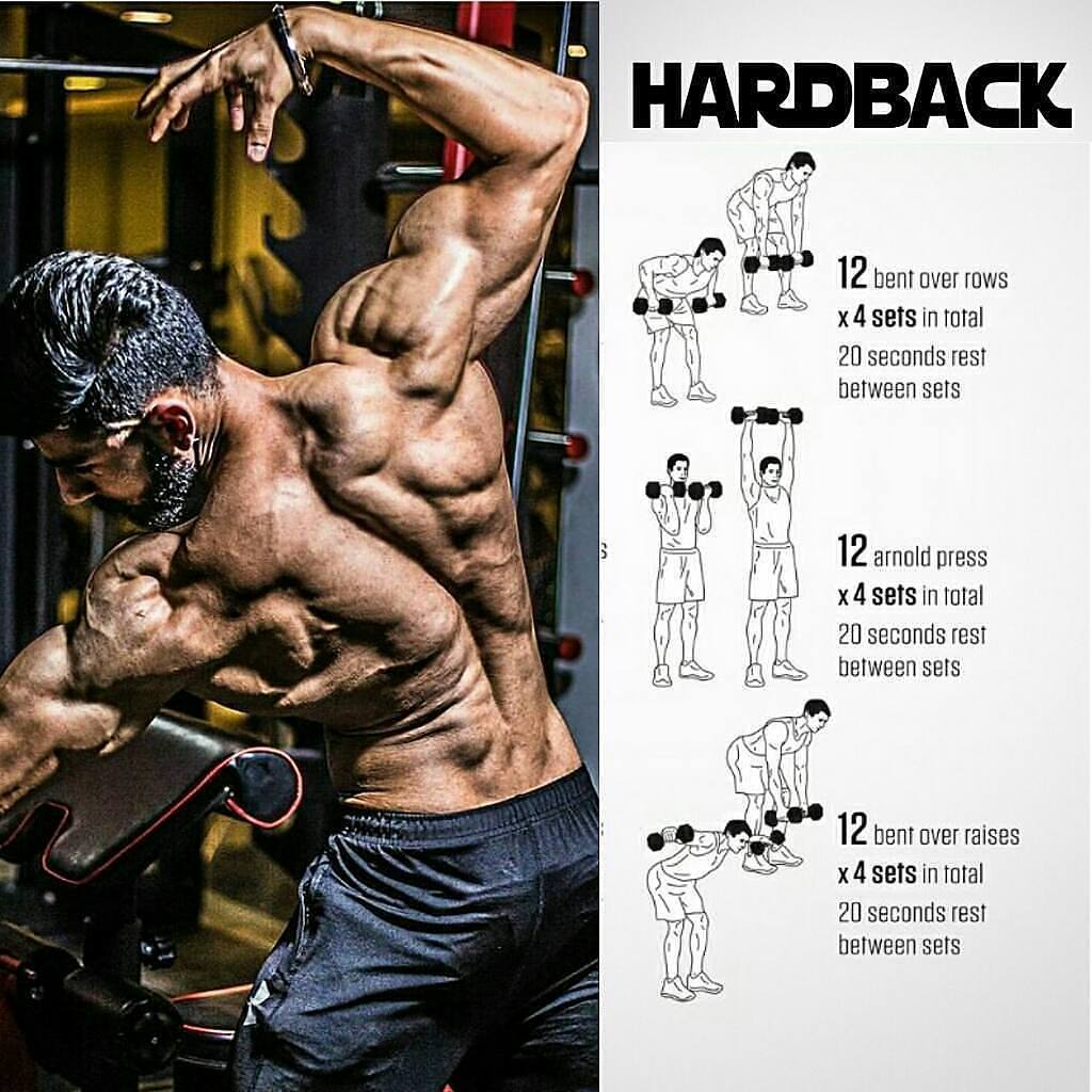 hard back exercises