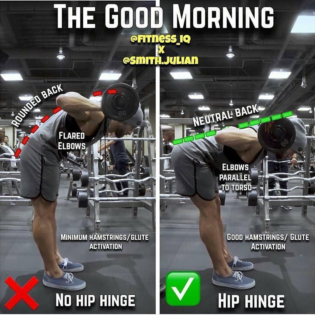 Neutral back exercises