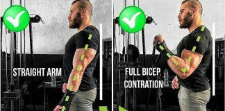Biceps Cable Curl: Techniques