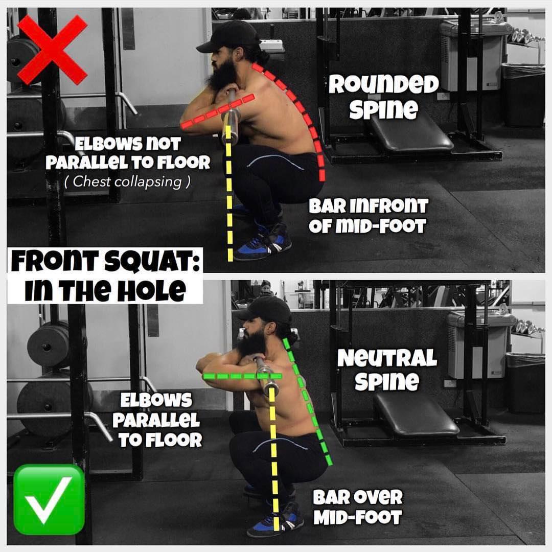 Technique Front Squat
