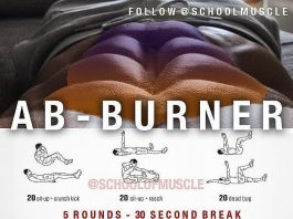 Abdominal strong exercises
