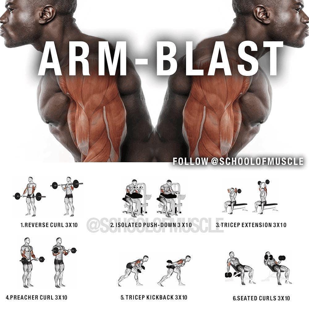 Huge Arm Blast