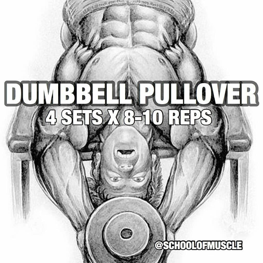 DUMBBELL PULLOVER