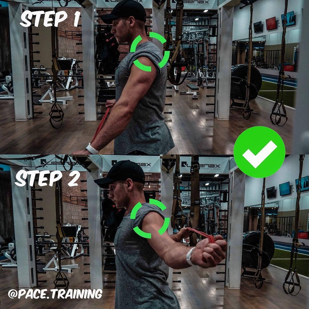 Warming-up the upper-body