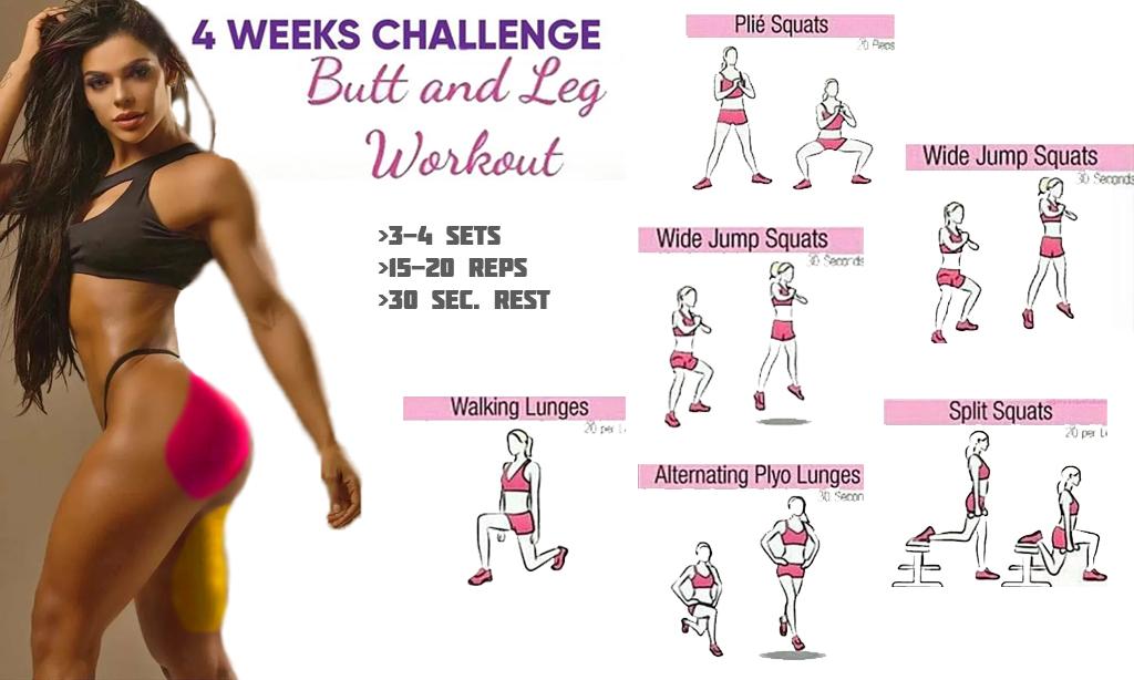 Bigger Bum Workouts