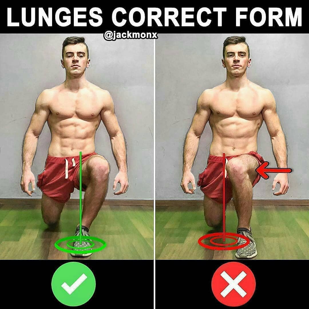 Lunges correct form