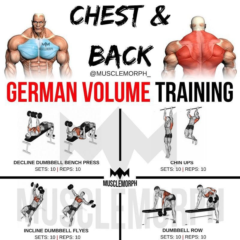 Huge back exercises