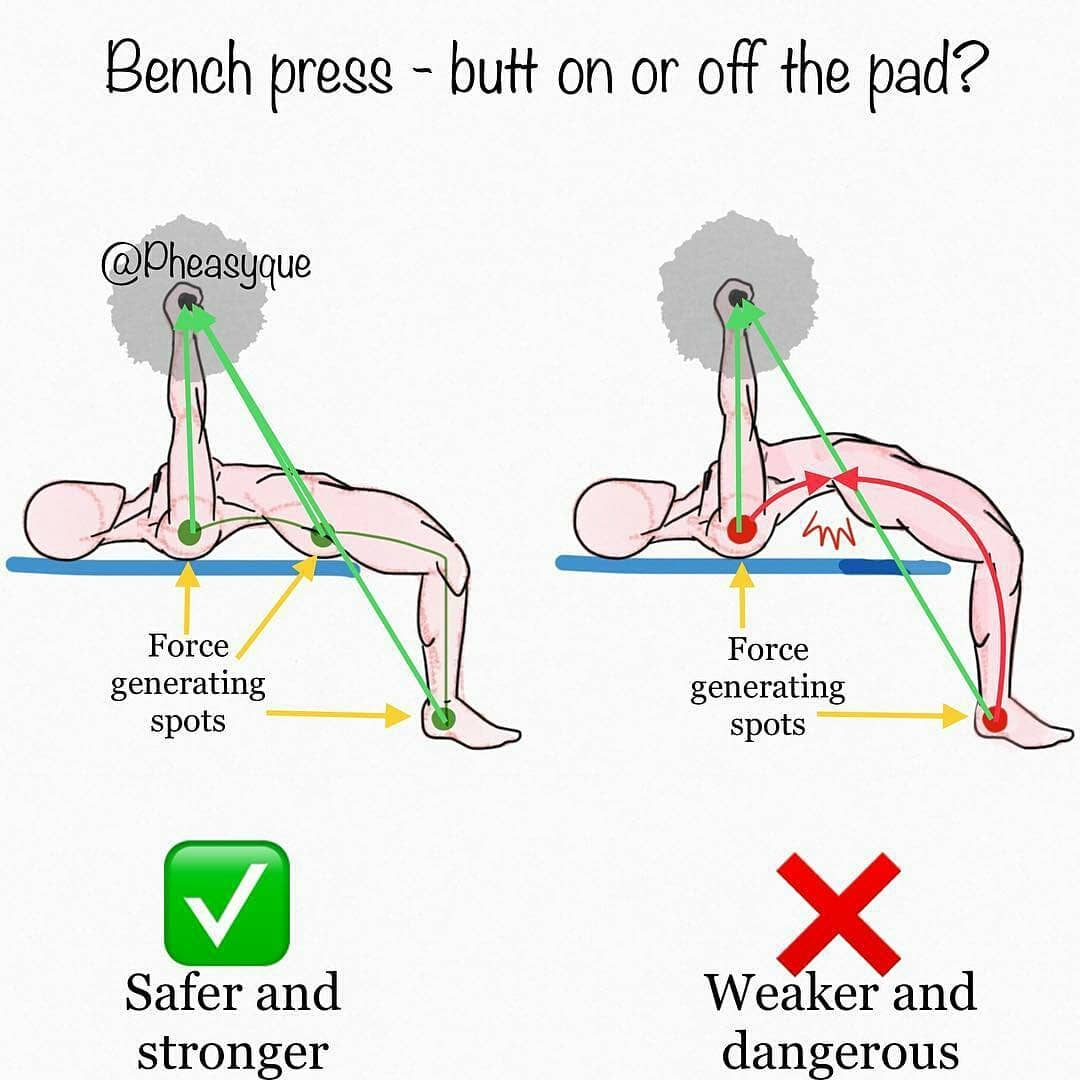 correctnes bench press