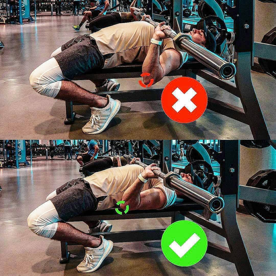 correct chest exercises