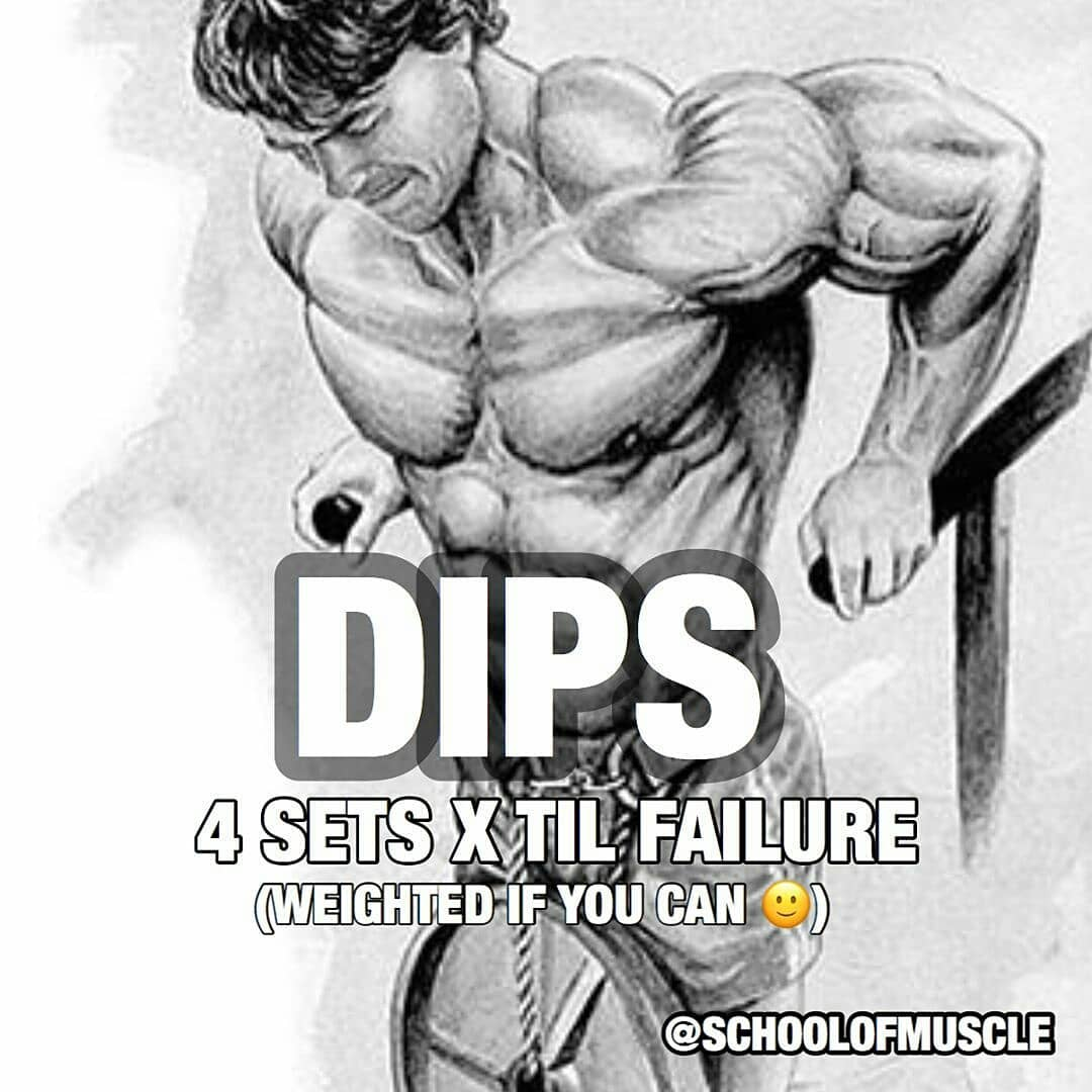 Dips exercises