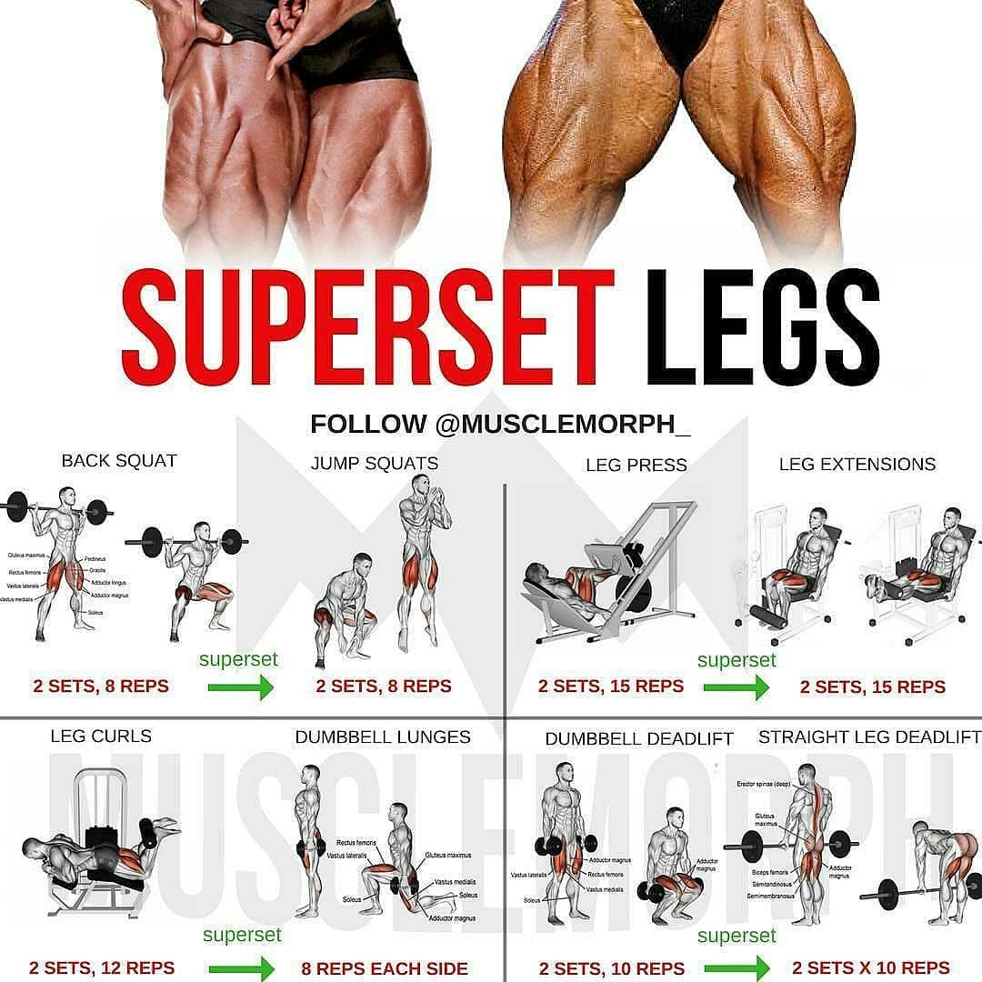 Superset legs