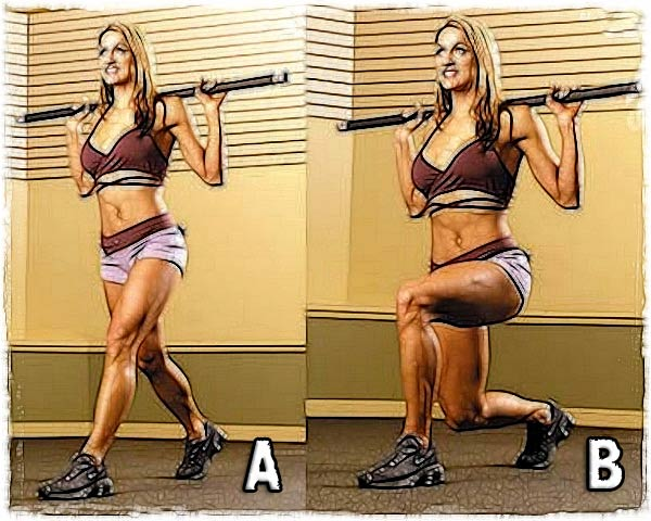Split squat (variable attacks)