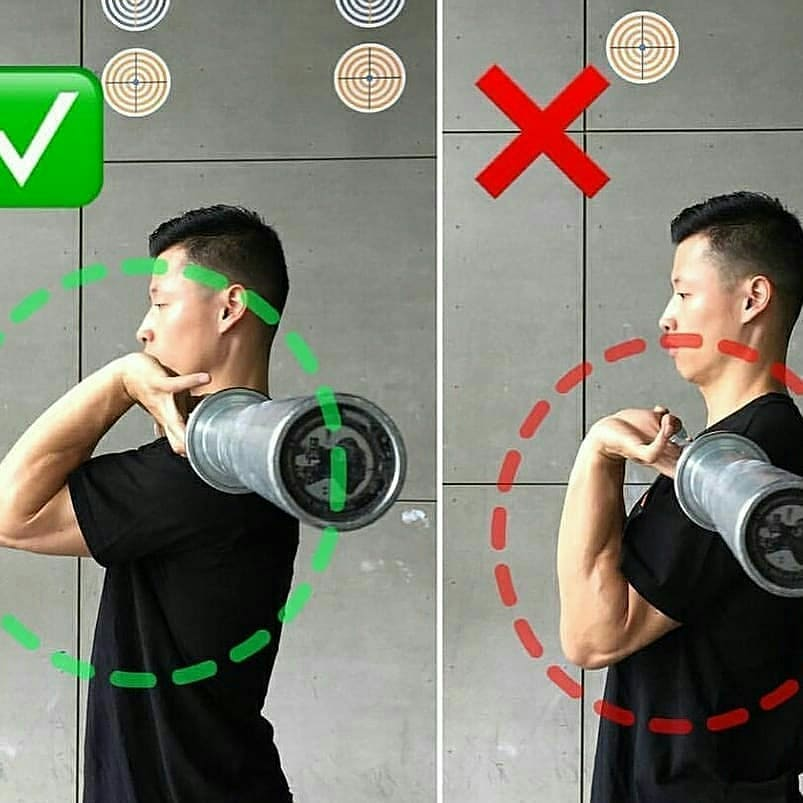 Front Squat With Proper
