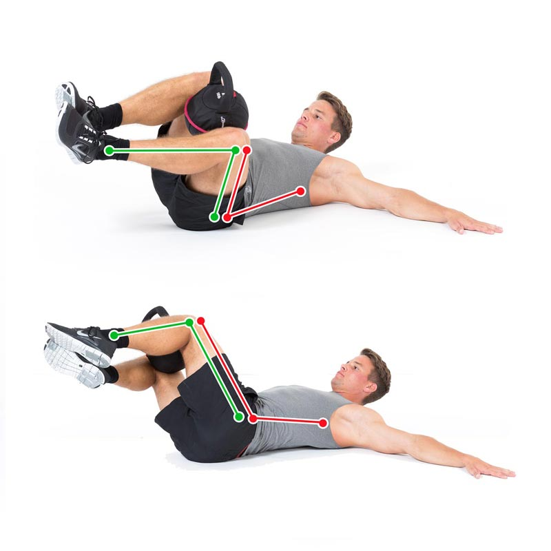 Lower back rotational