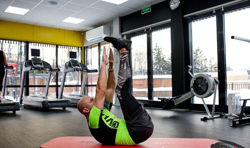 Fold Ab exercises