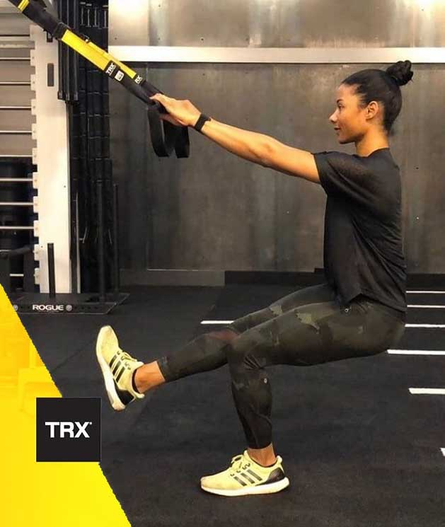 TRX One Leg Squat