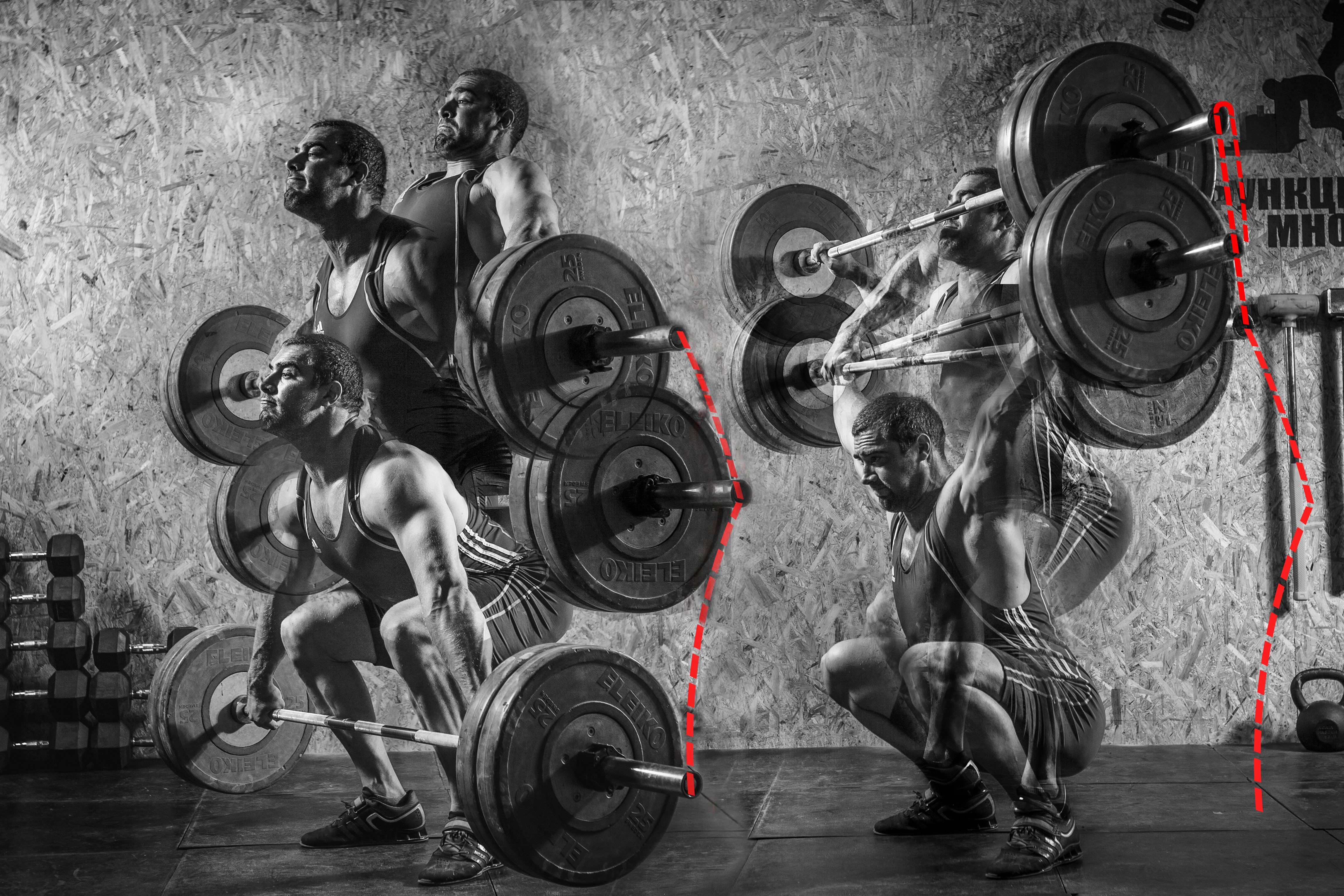 How correct a make jerk the a barbell.