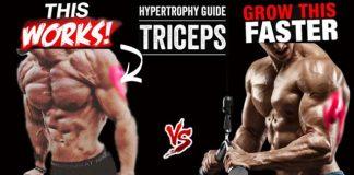 Triceps pushups uneven bars