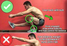 Pistol Squat is Completely Different from a Two Legs Squat