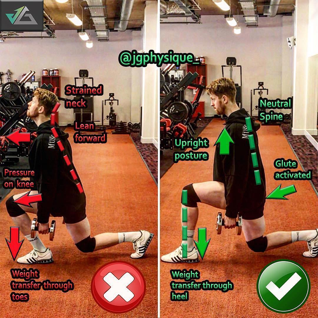 How to Walking Lunges