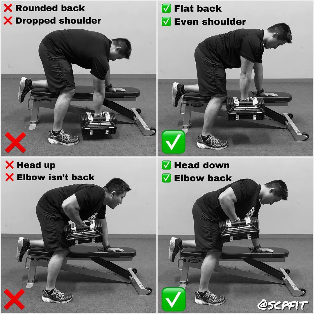 How to Do Dumbbell Rows