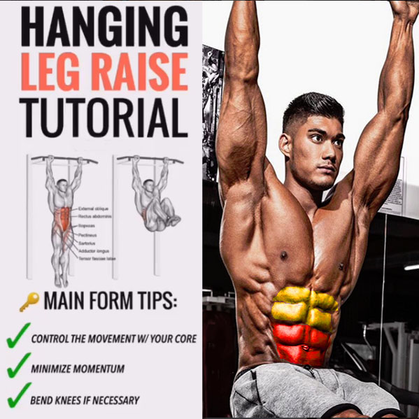 Hanging Knee Raises