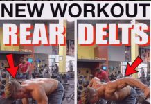 execution Rear Delt Dumbbell Flyes