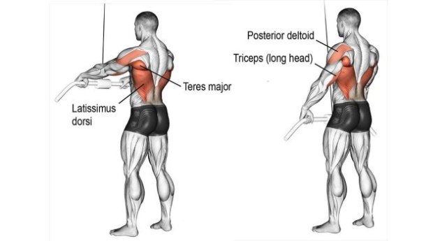 Isolation Lat Pull Downs