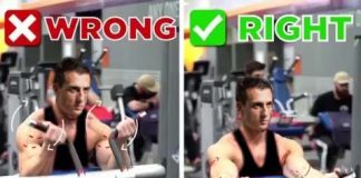 Pin Loaded Preacher Curl on Biceps