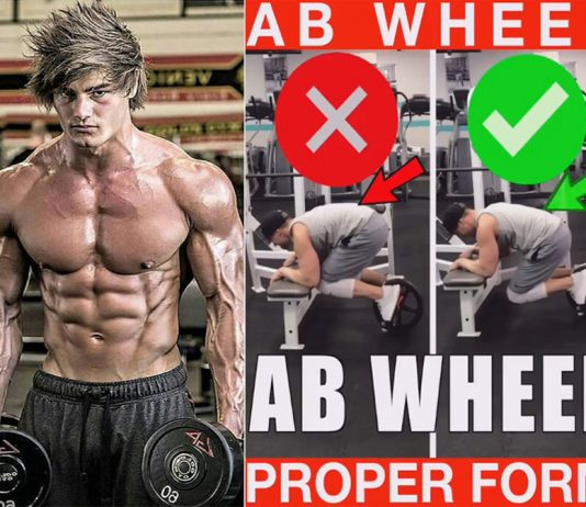 How to Ab Wheel Proper Form