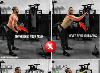 Straight-Arm Lat Pulldown
