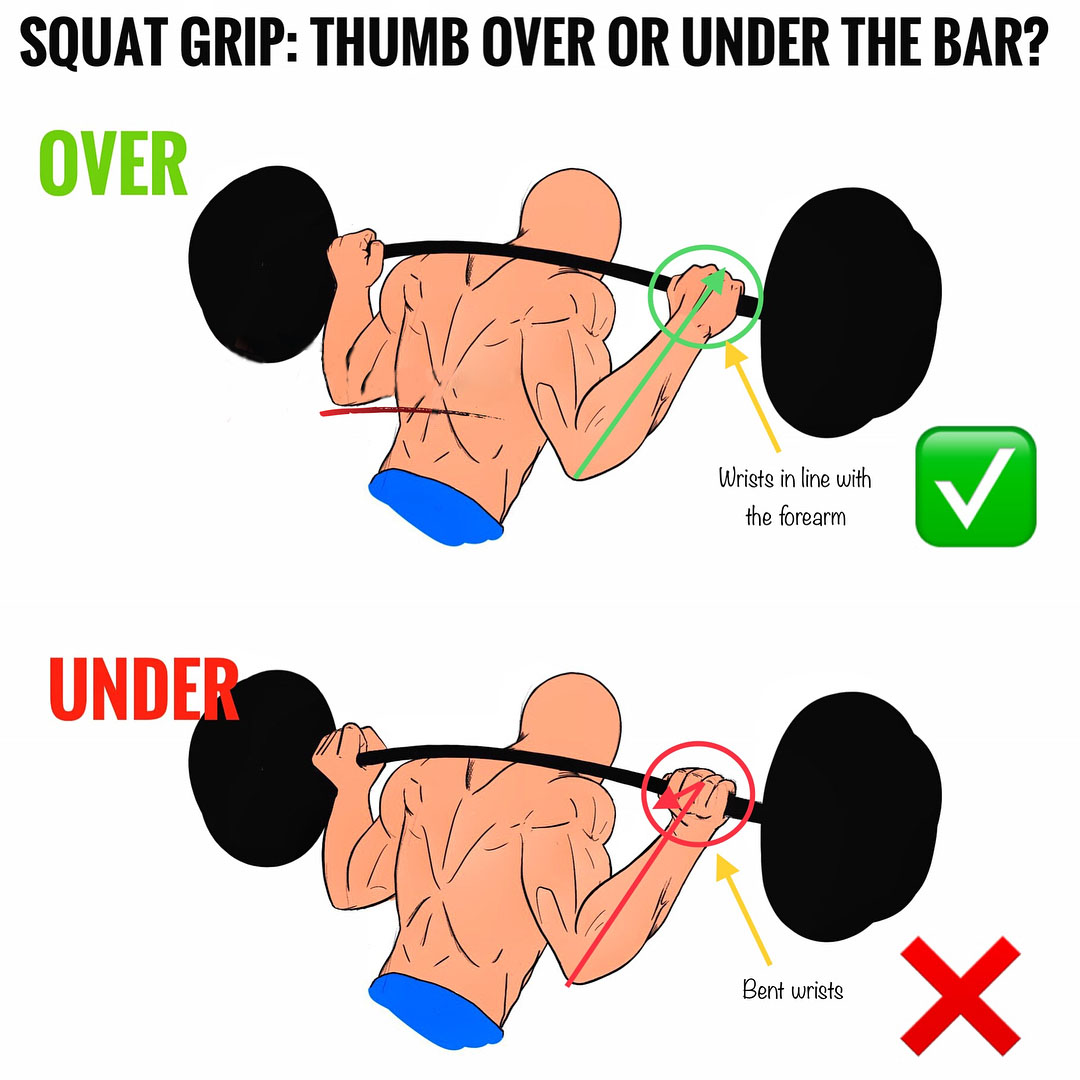 Improve Your Squat Form with a barbell