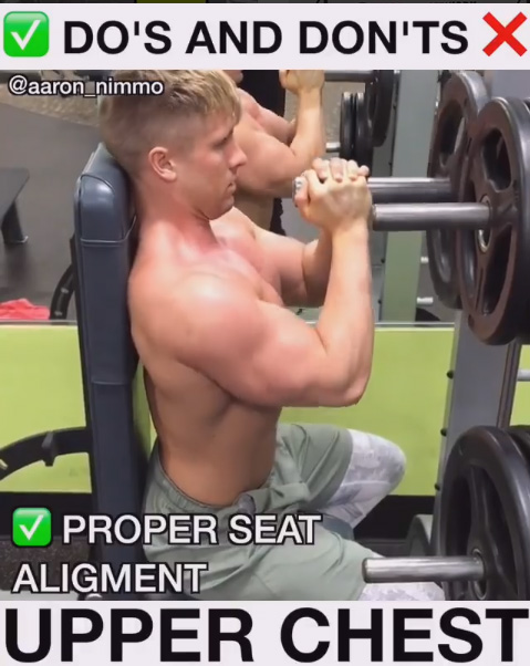Upper Chest Press exercises