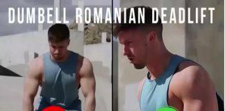 Dumbbell Romanian Deadlifts