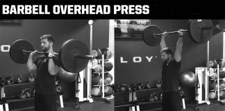 How to Barbell Overhead Press