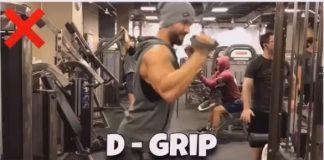 D-GRIP Tricep Pushdown