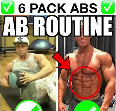 6 Pack ABdominal exercises