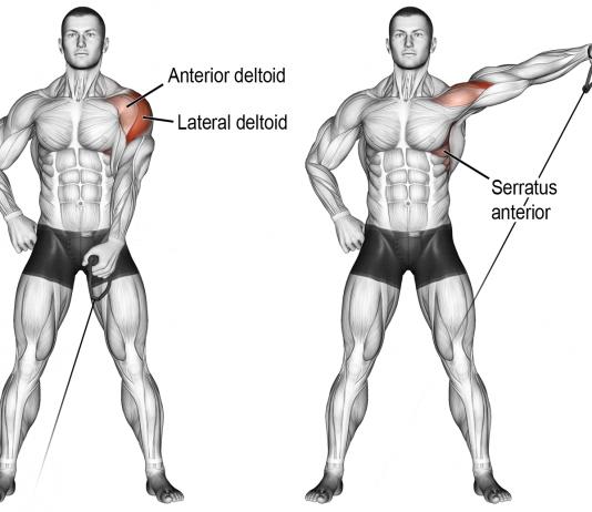 Single-Arm Dumbbell Lateral Raises