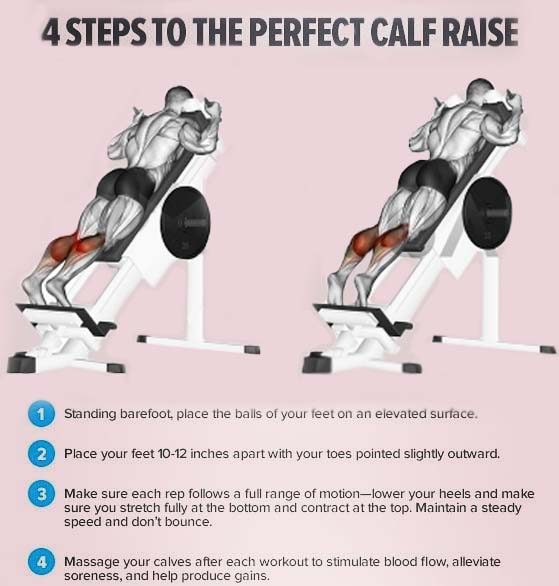 How to Do Perfect Calf Raise