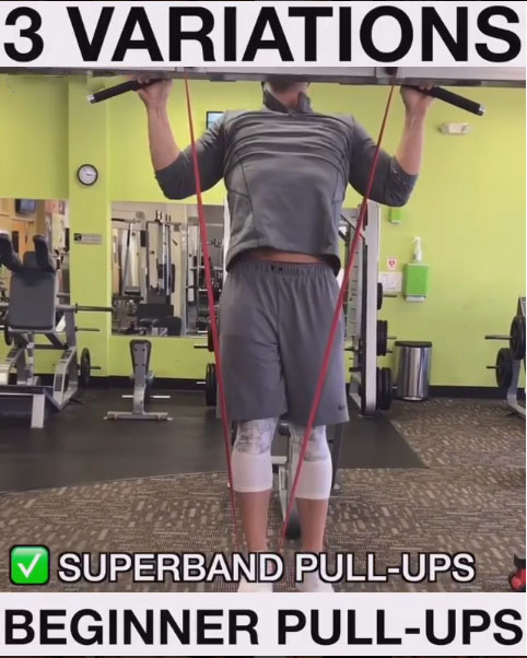 Superband Pull-Ups