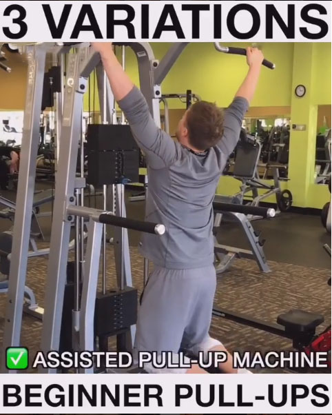 Assisted Pull-Up Machine