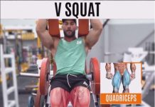 How to V SQUAT MACHINE