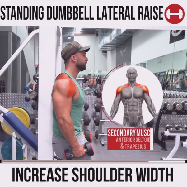 HOW TO DUMBBELL LATERAL RAISE