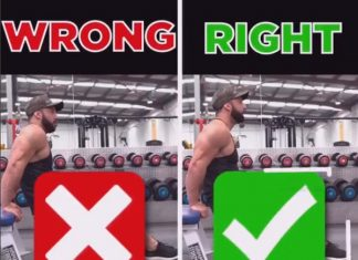 TRICEP DIPS ❌WRONG VS RIGHT❎